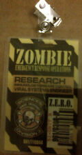 ZOMBIE HUNTER RESEARCH VIRAL SYSTEMS ENGINEER/DISEASE CONTROL  I.D. BADGE 2013
