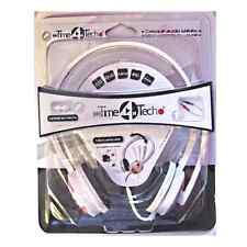 CASQUE STEREO MP3 DVD CD PC AUDIO AVEC MICRO CONTROLE DU VOLUME TIME TECH