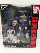 Transformers Titans Return SOUNDWAVE Leader Class Action Figure Hasbro