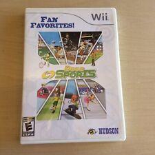 Deca Sports (Nintendo Wii, 2008 Fan Favorites) Very Good, Ships in a box
