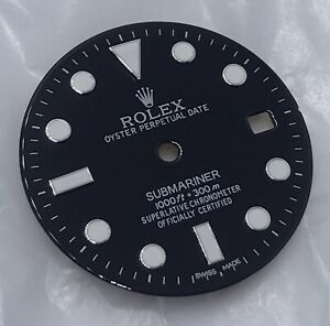 Aftermarket Repainted Rolex 116610 Submariner Black Dial For 2824 2836 Movement