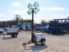 New listing 2005 Wacker Ltc4L Towable Light Tower Generator Lombardini Diesel bidadoo
