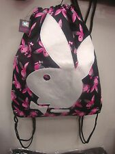 PLAYBOY  BUNNY DRAWSTRING  BACKPACK OFFICIAL LICENSED