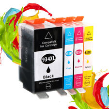 4 Compatible Ink Cartridges For HP 934 935 Officejet Pro 6815 6830C 6830
