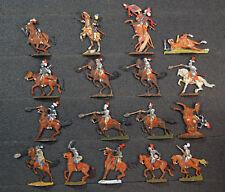 17 x Zinnfiguren Reiterei Kavallerie 30jähriger Krieg 30mm bemalt Z28-144