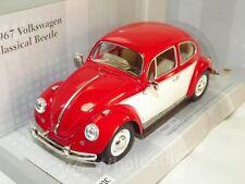 VOLKSWAGEN VW Beetle Year 1967 Blue 1 24 Kinsmart