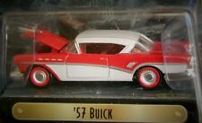 RACING CHAMPIONS 57 1957 BUICK MINT COLLECTIBLE AUTH DETAILED CAR RED/WHITE