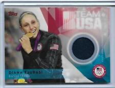 SWEET 2016 TOPPS OLYMPIC DIANA TAURASI RELIC CARD ~ WNBA ~ UCONN LEGEND