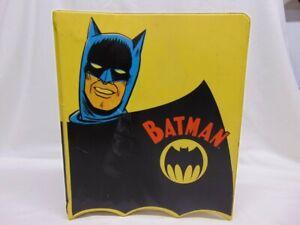 Vintage 1966 Mattel Batman 3-Ring Binder