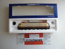 Fleischmann 74375, E-Lok 103 163-2 der DB, DCC Sound, Neu, unbespielt in OVP, HO