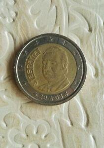 Moneta 2 Euro 2003, Re Juan Carlos I,  Espana, Spain, Spagna circolata.
