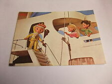 S2 tarjeta postal ak RDA yhay kinderfernsehn arena hombre cuentos de hadas buenas 1973