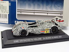 Ebbro 1/43 - Dome S101 Racing for Holland Le Mans 2001 N°9