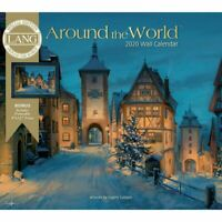 Lang Companies, 2020 Around the World Special Edition Wall Calendar - Linen
