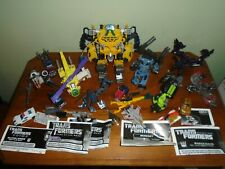 Transformer Lot of 19 figures & 7 Paper instructions