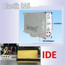 """Boitier Externe USB 2 pour disque dur 3,5"""" IDE - ATA  Ventilateur BEHED35U2U"""