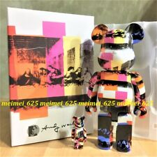 Bearbrick Medicom 2020 Andy Warhol ~ The Last Supper 100% 400% Be@rbrick