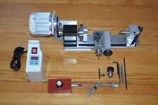 New taig metal wood cutting lathe with .73 hp variable speed brushless motor