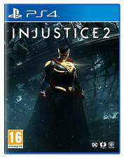 Injustice 2 For PS4 (New & Sealed)