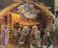 Cross Stitch & Country Crafts Magazines For Complete Nativity 1994 Christmas