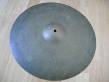 "18"" Vintage 50s no dot sm stamp Avedis Zildjian Crash Cymbal 1500g heavy patina"