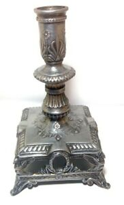 ANTIQUE Vintage CANDLESTICK DEPOSE 340 RARE Candle BIRD DECOR Home UNUSUAL