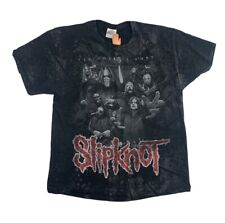 Y2K Slipknot All Hope Is Gone All Over Print Double Sided T Shirt Size XL Rock