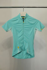 Womens MAVIC Cloud Cycling Full Zip Jersey SS Shirt size XS