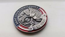 St Louis County Police Department K9 Challenge Coin