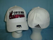 MIAMI HEAT Adidas Superflex CAP/HAT 2013 NBA CHAMPIONS  size Small/Medium  NWT