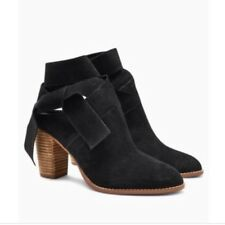 New🌷Next🌷Size 3.5 (36 EU) Black Suede Wrap Leather Boots Shoes Slip On £ 50