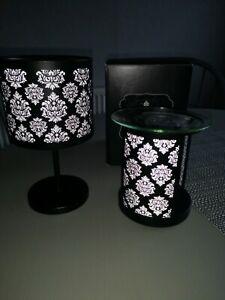 Partylite Burner And Candle Holder