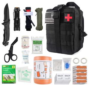 Survival Multi Functional Tool Set Field Survival First Aid Box Styptic Trauma