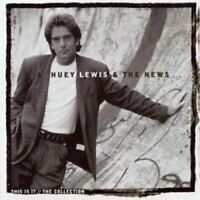 HUEY LEWIS & THE NEWS this is it - the collection (CD compilation) greatest hits