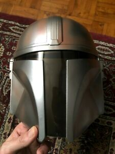 Star Wars Mandalorian Helmet 1:1 Hard PVC Full Mask Black Series Cosplay Costume