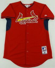 Majestic Cool Base Mlb St.Louis Cardinals Baseball Jersey Size Youth L(14-16)