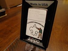 BOY SCOUTS BSA SPORTING CLAYS 2012 CHAMPION ZIPPO LIGHTER ALLEGHENY HIGHLANDS