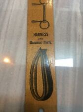 """New listing Rare Vintage 12� Wood Ruler """"The Woodward Co. Harness Makers Saddlery Supplies"""