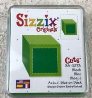 Provo Craft Sizzix Green Die Block 38-0273 in Case