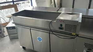 Empire Refrigerated Counter Top Servery Prep Unit USED COLLECTION ONLY