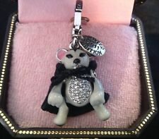 NIB Juicy Couture New Genuine Rare 2011 Ltd Ed Dracula Vampire Mouse Charm