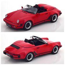 1/18 KK Scale Porsche 911 Speedster 1989 Red Éd Limitée 1500Ex Livraison Domicil