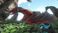 ark survival evolved XBOX PVE Level 185 Red Poison Wyvern Clone