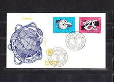 Amt/  Tunisie   enveloppe   conquete de l' Espace     1971