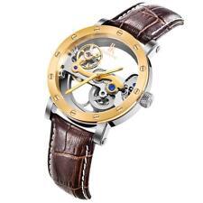 IK Colouring Watches Bridge Skeleton Self Wind Mechanical Waterproof Watch P8A3