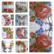 SD-34 Cross stitch PATTERN - Flower Borders - Ukrainian Vyshyvanka Mexican Boho