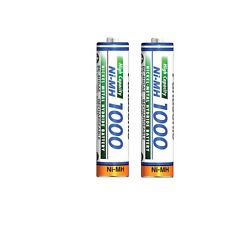 2x AAA Panasonic Micro Batería 1000mAh para Siemens Gigaset S440/S445/S67h