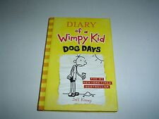 Diary of a Wimpy Kid: Dog Days by Jeff Kinney (2009, Hardcover) New