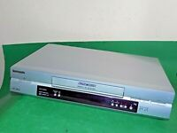 PANASONIC NV-FJ630 Video Cassette Recorder VHS VCR SILVER Tape FAULTY / SPARES
