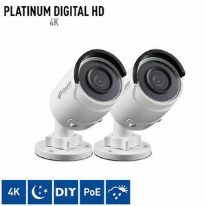 Swann 880 4K Ultra HD Home Surveillance Camera HD CCTV Security Camera Outdoor